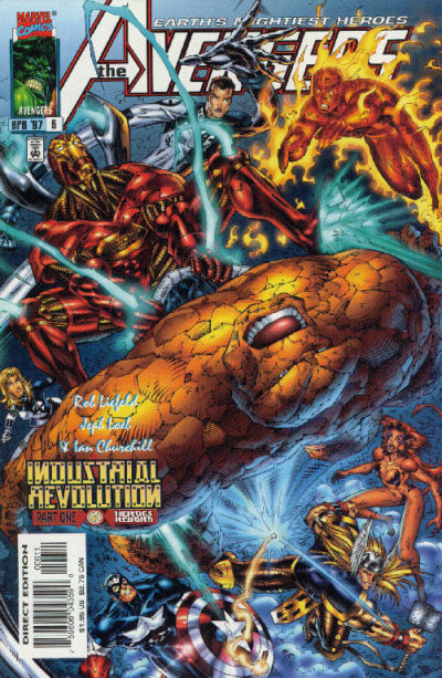 Cover for Avengers (Marvel, 1996 series) #6 [Direct Edition]