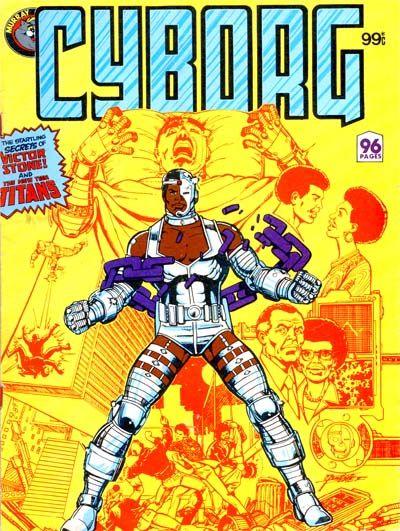 Cover for Cyborg (K. G. Murray, 1983 ? series) #[nn]