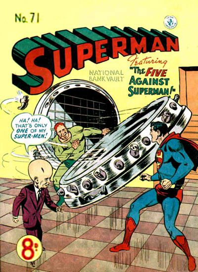 Cover for Superman (K. G. Murray, 1947 series) #71