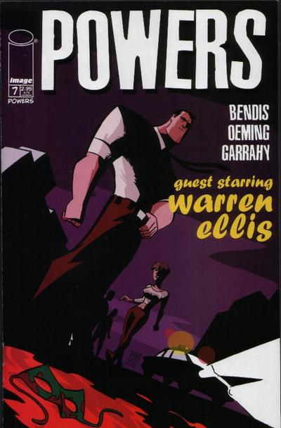 Cover for Powers (Image, 2000 series) #7