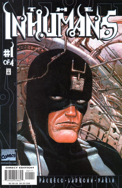 Cover for Inhumans (Marvel, 2000 series) #1