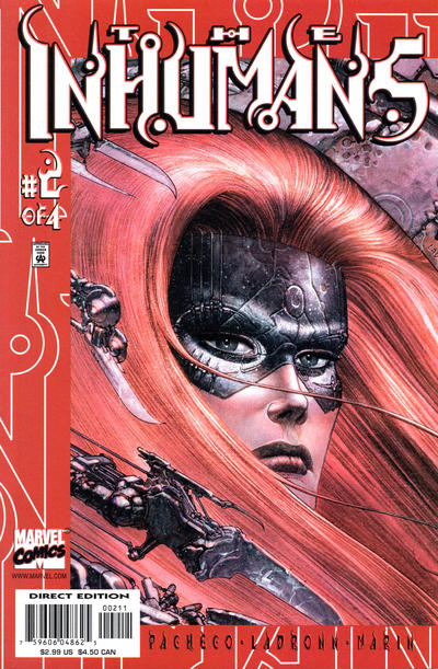 Cover for Inhumans (Marvel, 2000 series) #2
