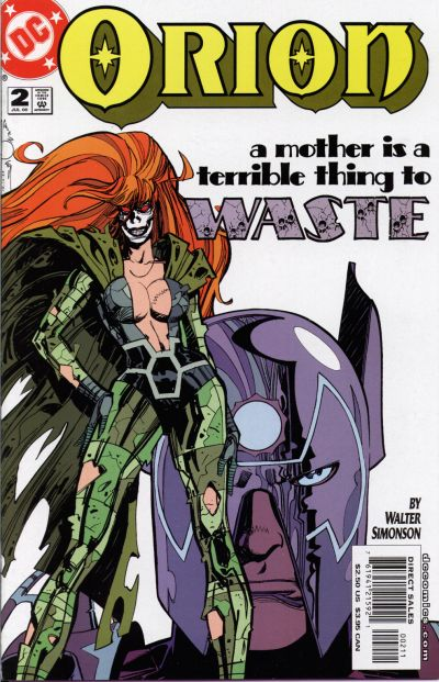 Cover for Orion (DC, 2000 series) #2