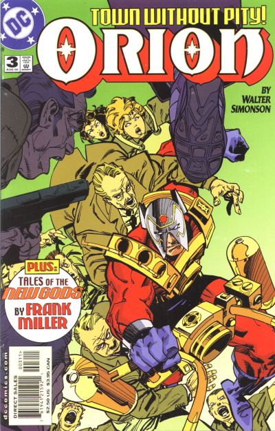 Cover for Orion (DC, 2000 series) #3