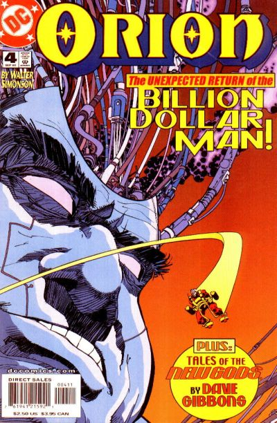 Cover for Orion (DC, 2000 series) #4