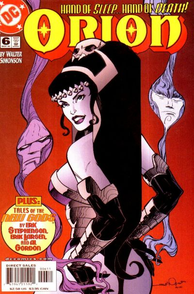 Cover for Orion (DC, 2000 series) #6