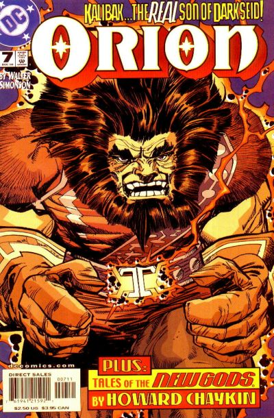 Cover for Orion (DC, 2000 series) #7