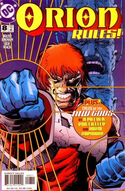 Cover for Orion (DC, 2000 series) #8