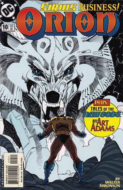 Cover for Orion (DC, 2000 series) #10