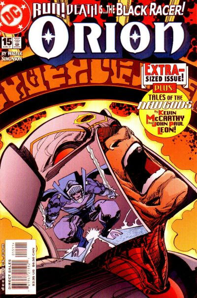 Cover for Orion (DC, 2000 series) #15