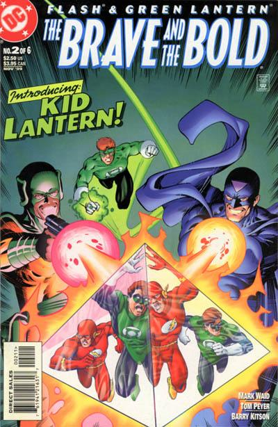 Cover for Flash & Green Lantern: The Brave and the Bold (DC, 1999 series) #2