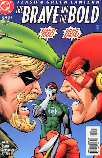 Cover for Flash & Green Lantern: The Brave and the Bold (DC, 1999 series) #4