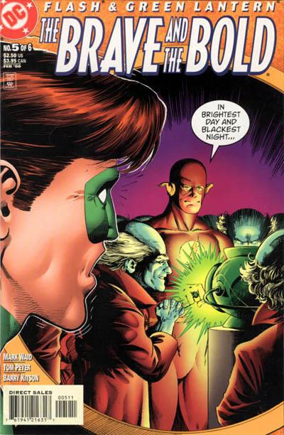 Cover for Flash & Green Lantern: The Brave and the Bold (DC, 1999 series) #5