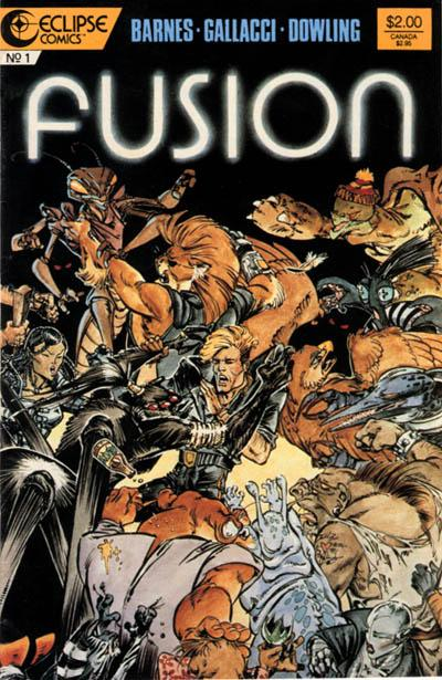 Cover for Fusion (Eclipse, 1987 series) #1