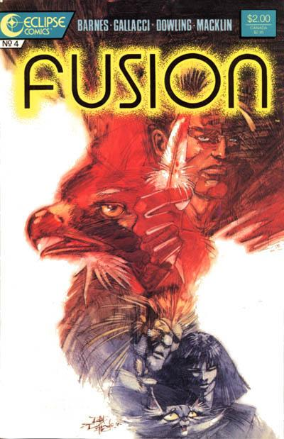 Cover for Fusion (Eclipse, 1987 series) #4