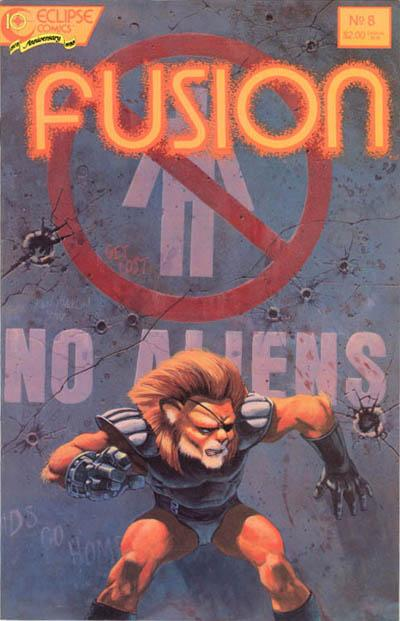 Cover for Fusion (Eclipse, 1987 series) #8