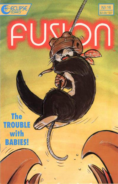 Cover for Fusion (Eclipse, 1987 series) #16
