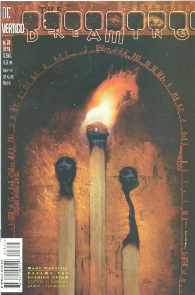 Cover for The Dreaming (DC, 1996 series) #28