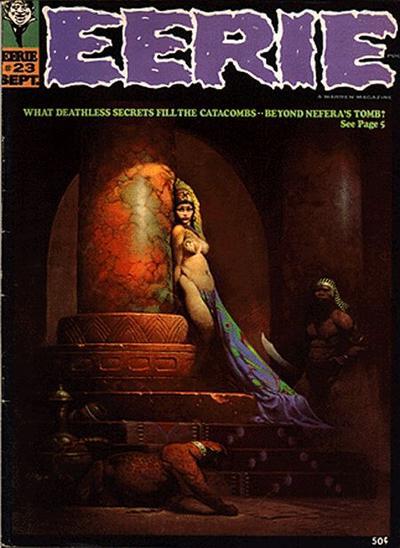 Cover for Eerie (Warren, 1966 series) #23