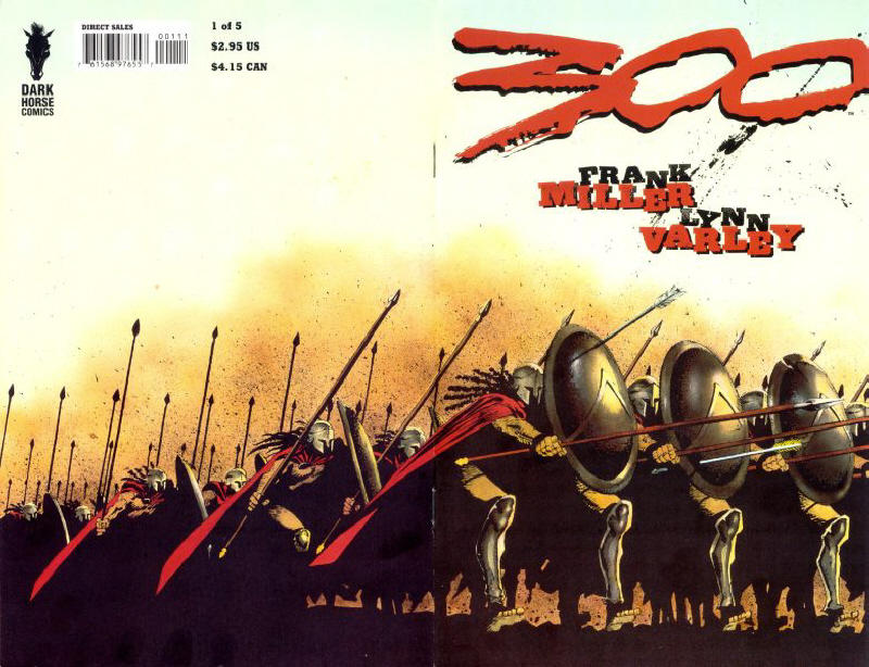 Cover for 300 (Dark Horse, 1998 series) #1
