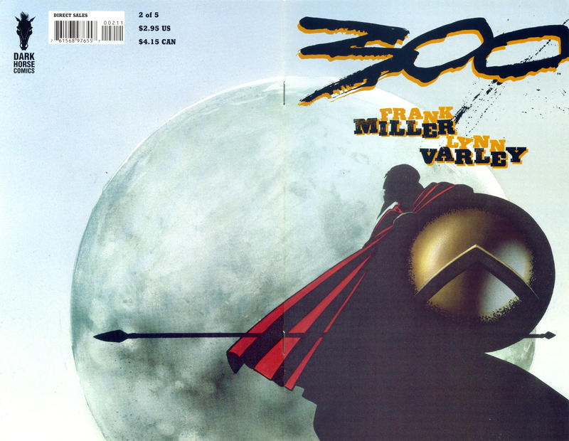 Cover for 300 (Dark Horse, 1998 series) #2