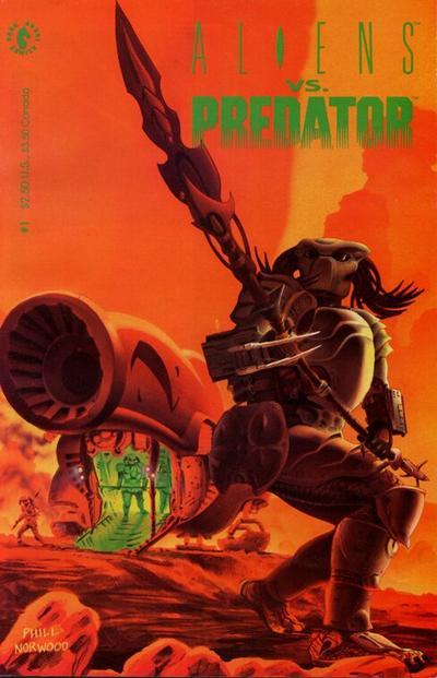 Cover for Aliens vs. Predator (Dark Horse, 1990 series) #1