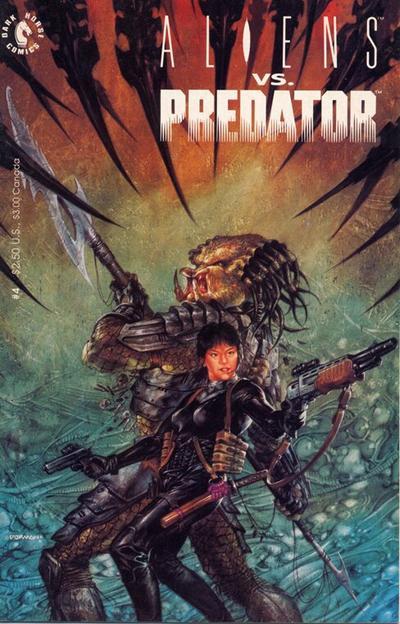 Cover for Aliens vs. Predator (Dark Horse, 1990 series) #4