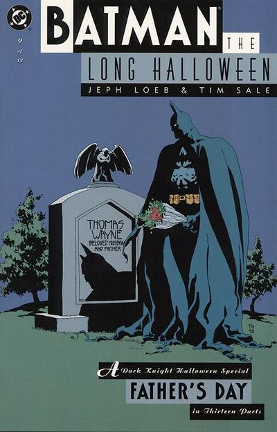 Cover for Batman: The Long Halloween (DC, 1996 series) #9
