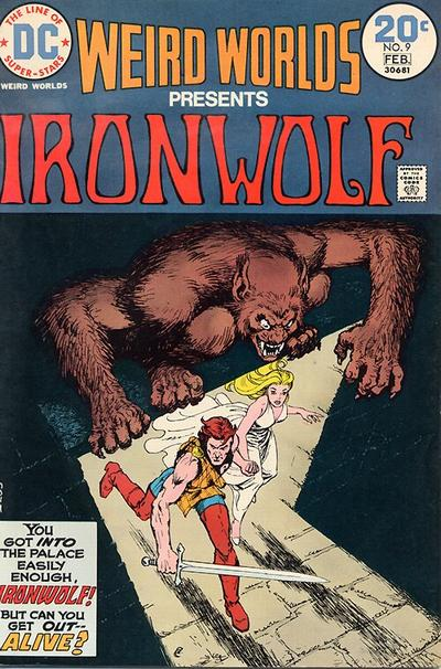 Cover for Weird Worlds (DC, 1972 series) #9
