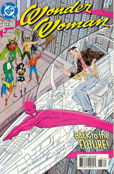 Cover for Wonder Woman (DC, 1987 series) #133