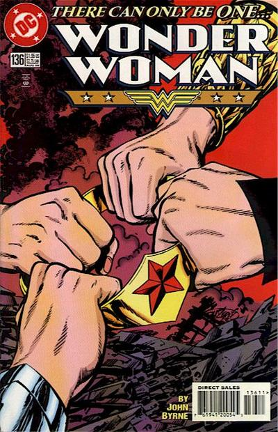 Cover for Wonder Woman (DC, 1987 series) #136
