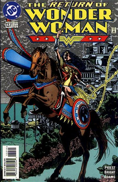Cover for Wonder Woman (DC, 1987 series) #137 [Direct Edition]
