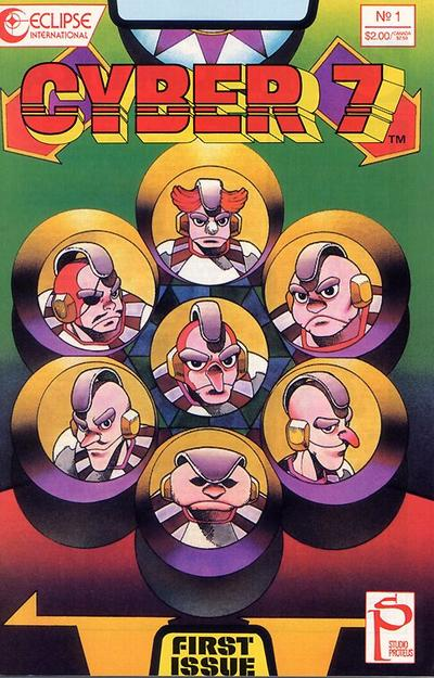 Cover for Cyber 7 (Eclipse, 1989 series) #1