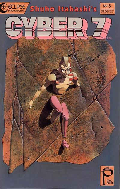 Cover for Cyber 7 (Eclipse, 1989 series) #5