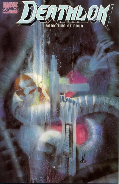 Cover for Deathlok (Marvel, 1990 series) #2