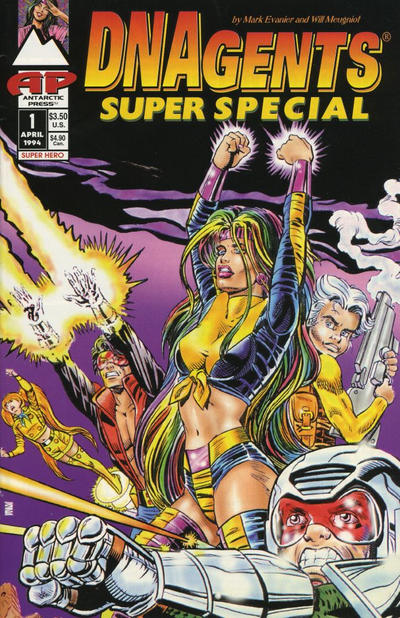 Cover for DNAgents Super Special (Antarctic Press, 1994 series) #1
