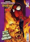 Cover for Ultimate Spider-Man and X-Men (Panini UK, 2005 series) #54