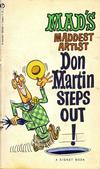 Cover for Don Martin Steps Out! (New American Library, 1962 series) #T5067