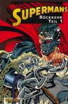 Cover for Superman (Carlsen Comics [DE], 1993 series) #4 - Supermans Rückkehr Teil 1