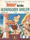 Cover for Asterix (Egmont Ehapa, 1968 series) #12 - Asterix bei den Olympischen Spielen