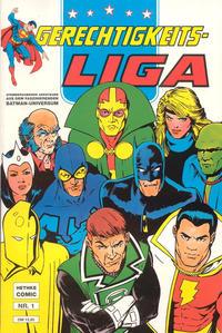 Cover Thumbnail for Gerechtigkeitsliga (Norbert Hethke Verlag, 1989 series) #1
