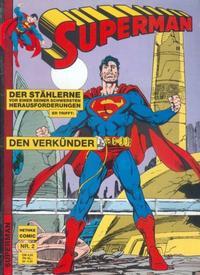 Cover Thumbnail for Superman (Norbert Hethke Verlag, 1989 series) #2