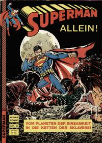 Cover Thumbnail for Superman (Norbert Hethke Verlag, 1989 series) #3
