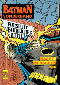 Cover Thumbnail for Batman Sonderband (Norbert Hethke Verlag, 1989 series) #17 - Nachtmenschen