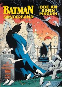 Cover Thumbnail for Batman Sonderband (Norbert Hethke Verlag, 1989 series) #25 - Ode an einen Pinguin