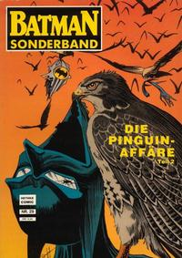 Cover Thumbnail for Batman Sonderband (Norbert Hethke Verlag, 1989 series) #29 - Die Pinguin Affäre, Teil 2