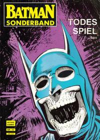 Cover Thumbnail for Batman Sonderband (Norbert Hethke Verlag, 1989 series) #32 - Todesspiel, Teil 2