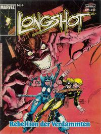 Cover Thumbnail for Longshot (Bastei Verlag, 1988 series) #4