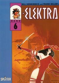 Cover Thumbnail for Elektra (Splitter, 1989 series) #6