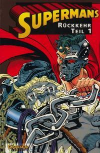 Cover Thumbnail for Superman (Carlsen Comics [DE], 1993 series) #4 - Supermans Rückkehr Teil 1